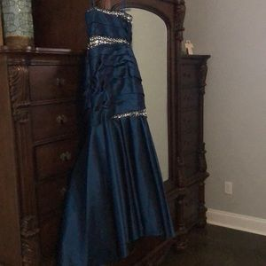 Ball Gown perfect for Mardi Gras Ball or Prom